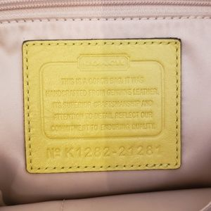 Coach Bags - Coach gathered leather bag